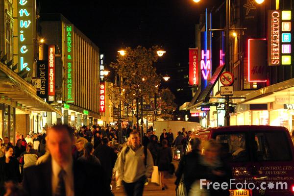 Picture of Northumberland Street, Newcastle - Free Pictures - FreeFoto.com