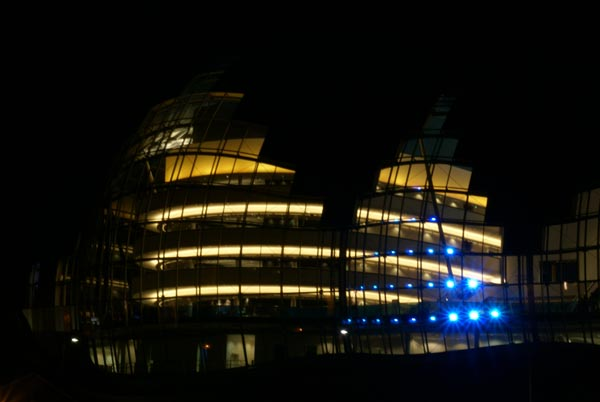 Picture of The Sage during Glow - a festival of light. - Free Pictures - FreeFoto.com