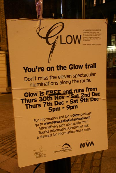 Picture of Glow - a festival of light. - Free Pictures - FreeFoto.com