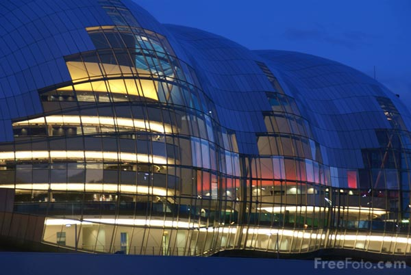 Picture of The Sage Gateshead - Free Pictures - FreeFoto.com