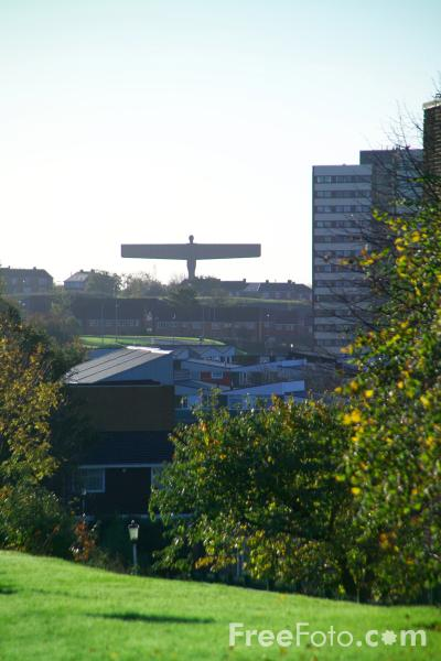 Picture of Gateshead Angel - Free Pictures - FreeFoto.com