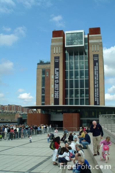 Picture of Baltic - The Centre for Contemporary Art, Gateshead - Free Pictures - FreeFoto.com
