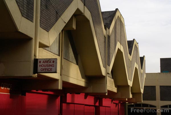 Picture of Trinity Square Shopping Centre, Gateshead - Free Pictures - FreeFoto.com