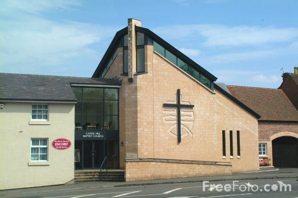 Picture of Warwick Baptist Church - Free Pictures - FreeFoto.com
