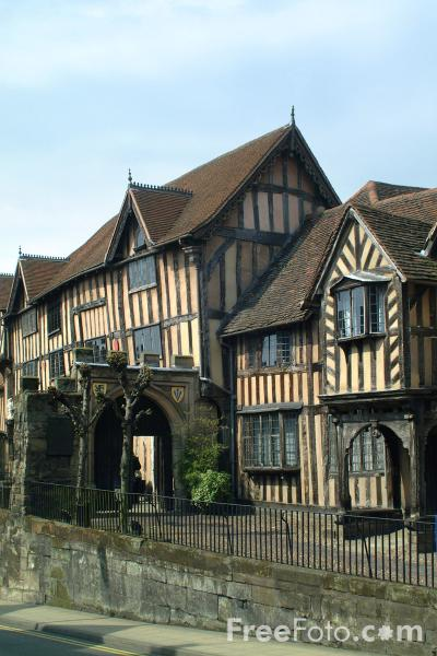 Picture of Lord Leycester Hospital, Warwick - Free Pictures - FreeFoto.com