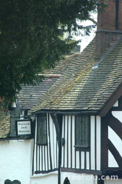 Picture of Oken's House and Doll Museum, Warwick - Free Pictures - FreeFoto.com