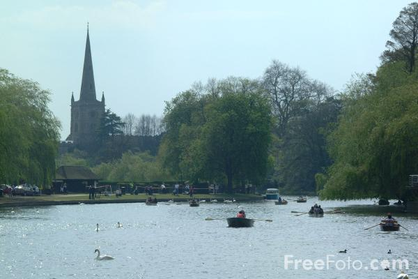 Picture of River Avon, Stratford upon Avon - Free Pictures - FreeFoto.com