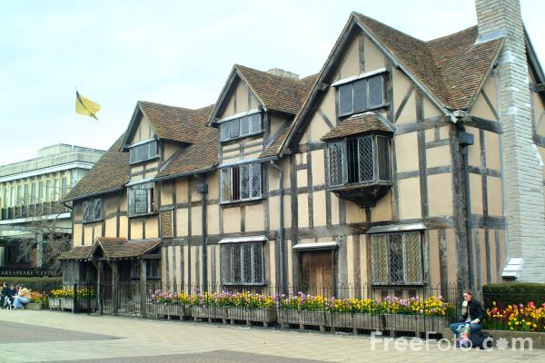 Shakespeare's Birthplace, Stratford upon Avon pictures, free use ...