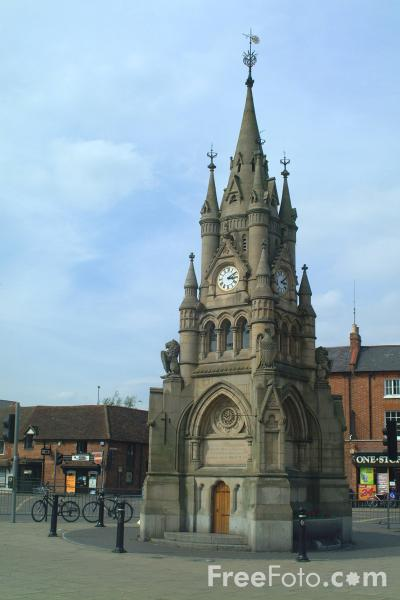 Picture of Market Place, Stratford upon Avon - Free Pictures - FreeFoto.com