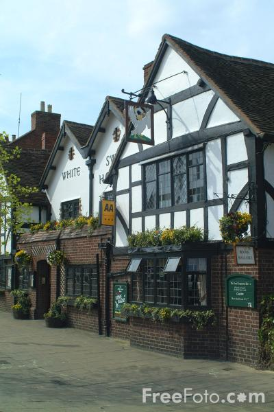 Picture of White Swan Hotel, Stratford upon Avon - Free Pictures - FreeFoto.com