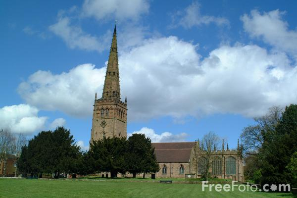 Picture of The Parish Church of Saint Peter and Saint Paul, Coleshill - Free Pictures - FreeFoto.com