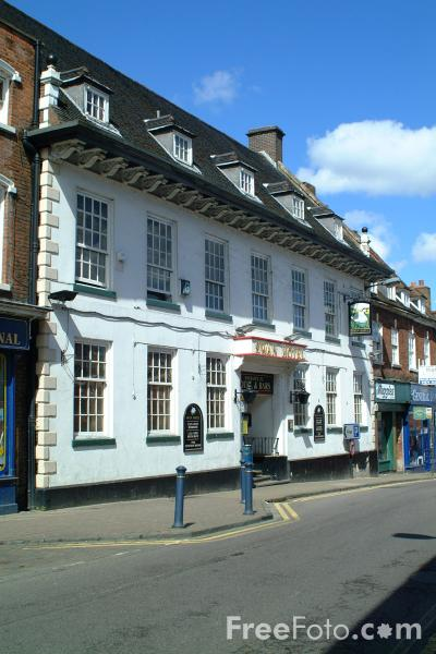 Picture of Swan Hotel, Coleshill - Free Pictures - FreeFoto.com