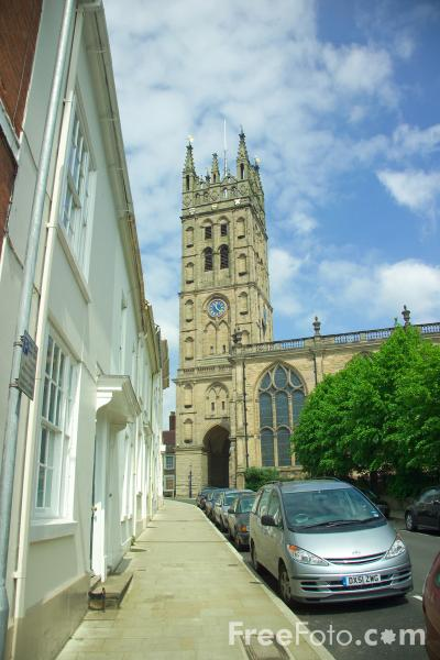 Picture of St Mary's Church, Warwick - Free Pictures - FreeFoto.com