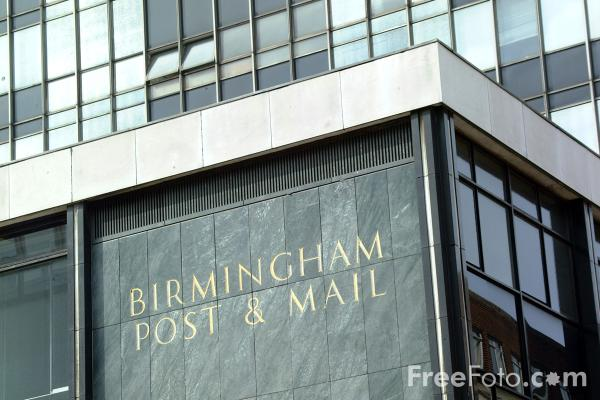 Picture of Birmingham Post and Mail - Free Pictures - FreeFoto.com