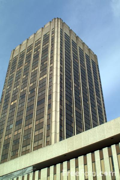 Picture of The seventh tallest building in Birmingham - Height 76.20m - Free Pictures - FreeFoto.com