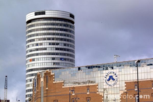 Picture of The Rotunda, The Bull Ring, Birmingham - Free Pictures - FreeFoto.com