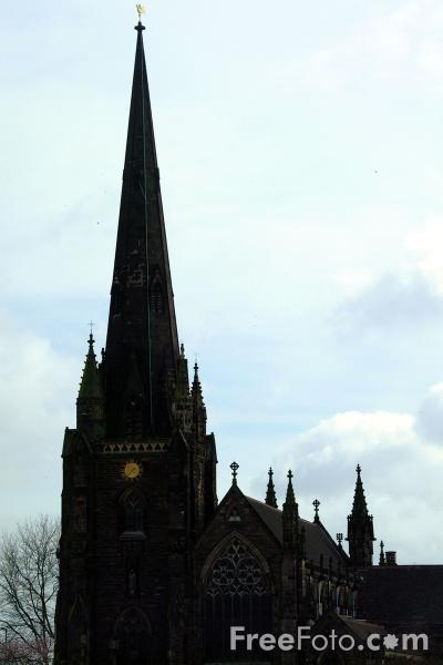 Picture of St. Martins Church, The Bull Ring, Birmingham - Free Pictures - FreeFoto.com