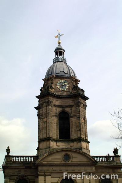 Picture of St Philip's Church of England cathedral, Birmingham. - Free Pictures - FreeFoto.com