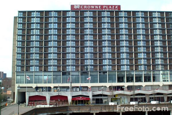 Picture of Crowne Plaza Hotel, Central Square, Birmingham - Free Pictures - FreeFoto.com
