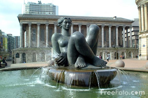Picture of The River - A female figure representing the life force nicknamed The Floozie in the Jacuzzi. - Free Pictures - FreeFoto.com