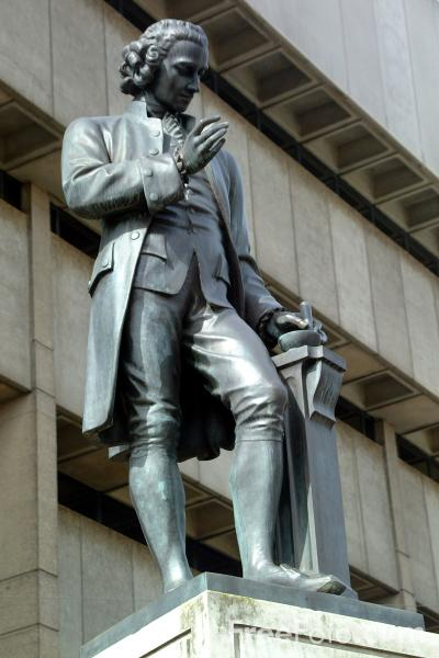 Picture of Joseph Priestley Sculpture, Birmingham - Free Pictures - FreeFoto.com