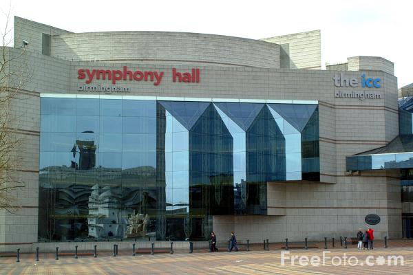 Picture of Symphony Hall - Free Pictures - FreeFoto.com