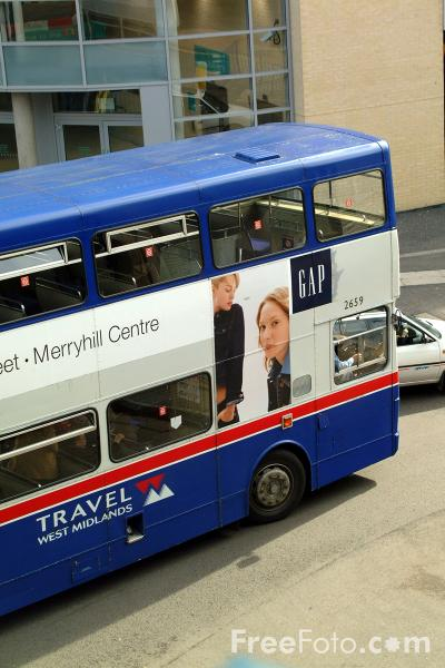 Picture of Travel West Midlands Bus Service - Free Pictures - FreeFoto.com