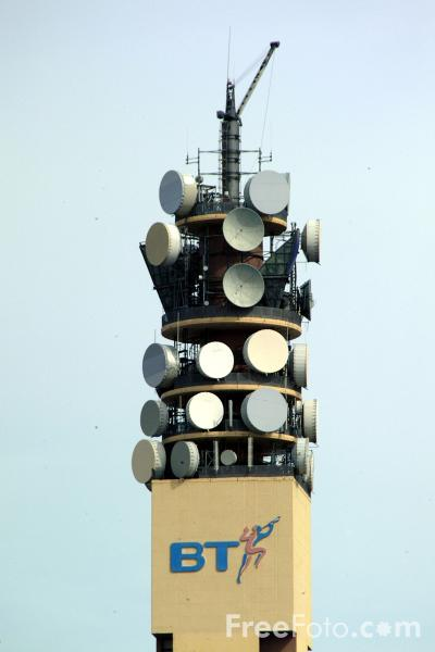 Picture of Telecom Tower - Free Pictures - FreeFoto.com