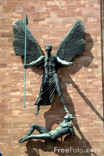 Picture of Coventry Cathedral - Free Pictures - FreeFoto.com