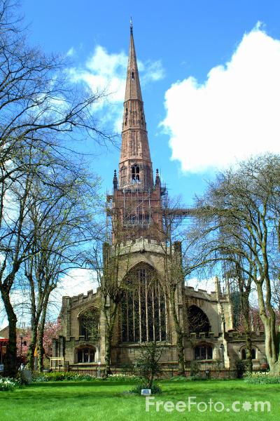 HOLY TRINITY CHURCH, Coventry pictures, free use image, 1047-06-54 ...