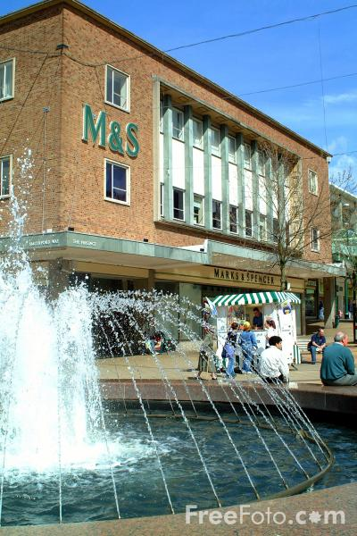 Picture of The Precinct Fountain, Coventry - Free Pictures - FreeFoto.com