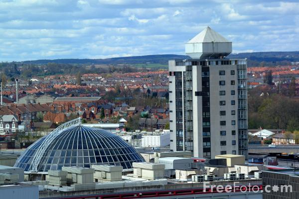 Picture of Coventry Skyline - Free Pictures - FreeFoto.com