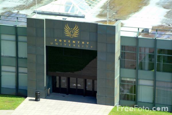 Picture of Coventry University - Free Pictures - FreeFoto.com