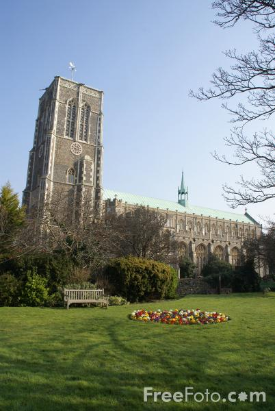Picture of The Parish Church of St Edmund, King and Martyr, Southwold, Suffolk, England - Free Pictures - FreeFoto.com