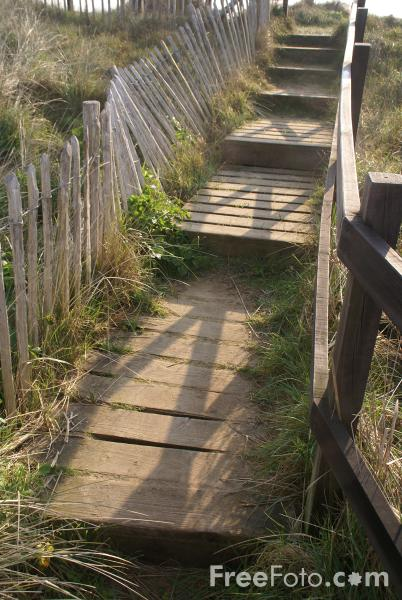 Picture of Footpath, Southwold, Suffolk, England - Free Pictures - FreeFoto.com