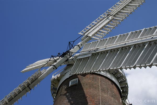 Picture of Buttrums mill, Woodbridge, Suffolk - Free Pictures - FreeFoto.com