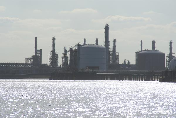 Picture of Industry by the River Tees - Free Pictures - FreeFoto.com