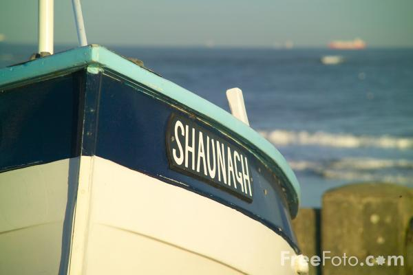 Picture of Fishing Boat, Redcar Sea Front - Free Pictures - FreeFoto.com