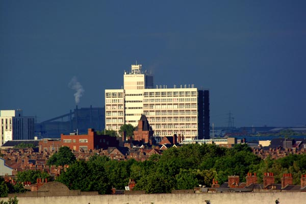 Picture of Middlesbrough Skyline - Free Pictures - FreeFoto.com