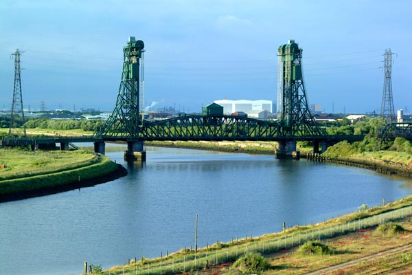 Picture of Newport Bridge, Middlesbrough - Free Pictures - FreeFoto.com