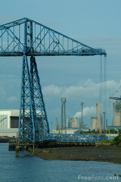 Picture of Transporter Bridge, Middlesbrough - Free Pictures - FreeFoto.com