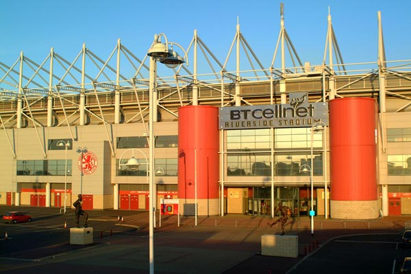 Picture of The Cellnet Riverside Stadium - Free Pictures - FreeFoto.com