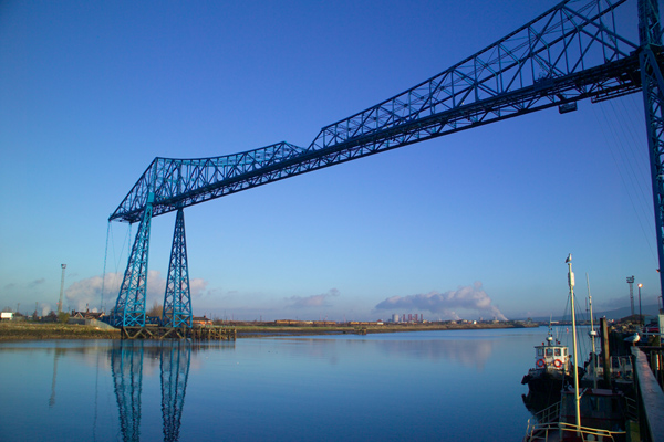 Picture of The Transporter Bridge, Middlesbrough - Free Pictures - FreeFoto.com