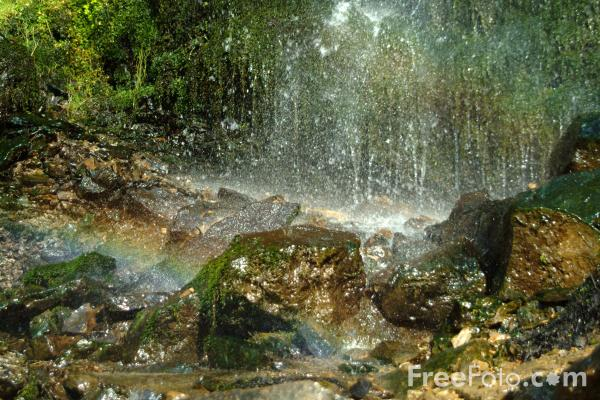 Picture of Mallyan Spout waterfall - Free Pictures - FreeFoto.com
