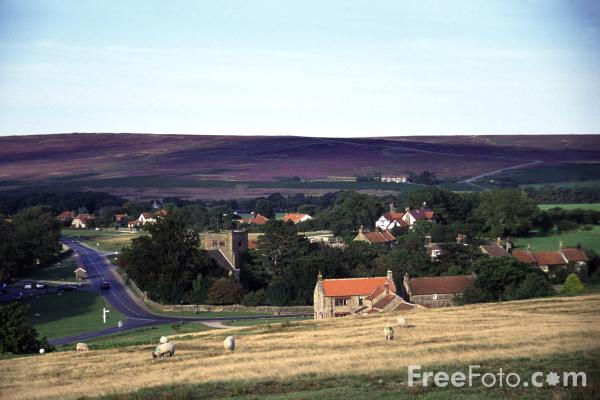 Picture of Goathland - Aidensfield - Heartbeat Country - Free Pictures - FreeFoto.com
