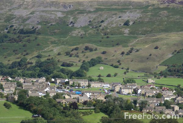 Picture of Reeth, Swaledale, North Yorkshire - Free Pictures - FreeFoto.com