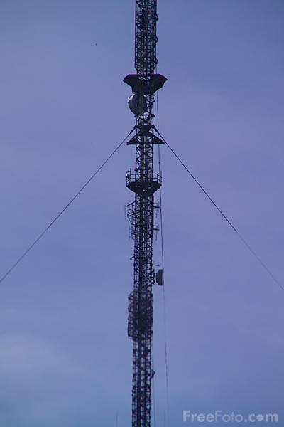 Picture of Holme Moss Radio Transmitter, West Yorkshire - Free Pictures - FreeFoto.com