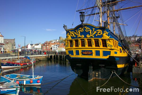 Picture of the Grand Turk, Whitby, North Yorkshire - Free Pictures - FreeFoto.com