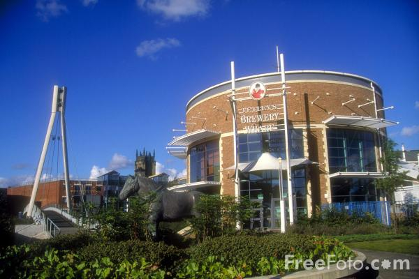 Picture of Tetleys Brewery Wharf - Free Pictures - FreeFoto.com