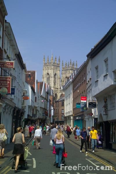 Picture of The City of York - Free Pictures - FreeFoto.com